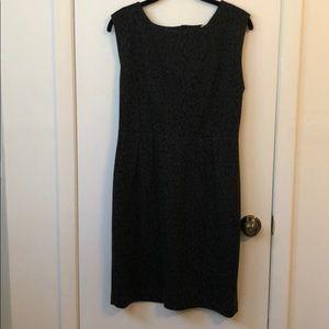 Black Anne Taylor Loft dress